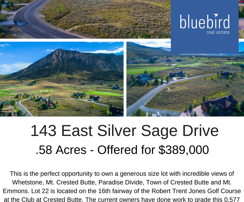 New Listing – 143 E. Silver Sage Drive – $389,000