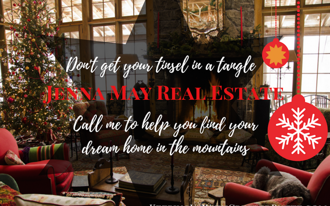 Happy Holidays And A Happy New Year from Jenna May Real Estate!
