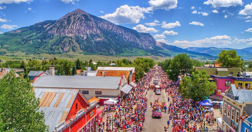 The Fourth was with Crested Butte