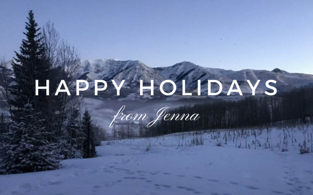 Year to Date Total Sales & Happy Holidays from Jenna!