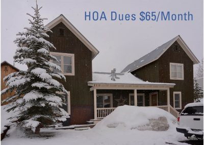 203 Horseshoe With HOA Dues